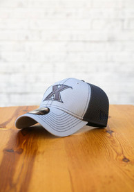 Xavier Musketeers New Era Grayed Out Neo 39THIRTY Flex Hat - Grey