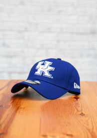 Kentucky Wildcats New Era The League 9FORTY Adjustable Hat - Blue