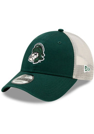 Michigan State Spartans New Era Retro Trucker 9FORTY Adjustable Hat - Green