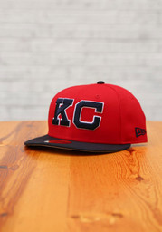 Kansas City Monarchs New Era 2T 2020 NLB Game 59FIFTY Fitted Hat - Red