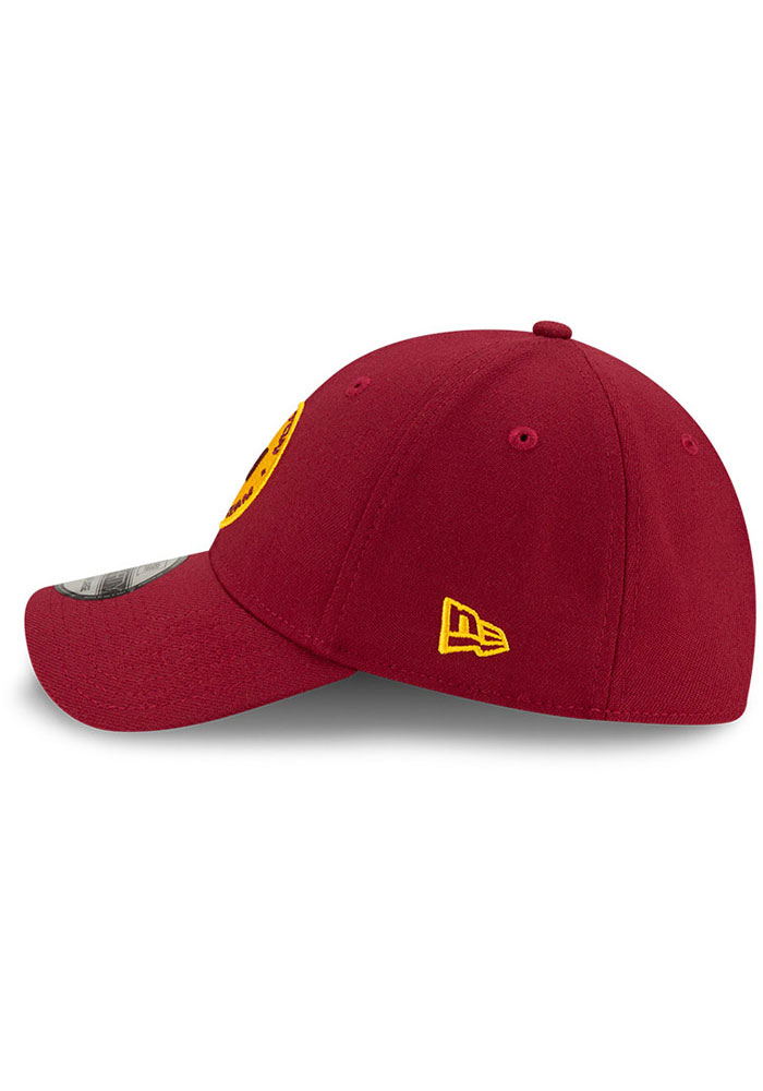 New Era Washington Redskins Mens Maroon Team Classic 39THIRTY Flex Hat - Image 4
