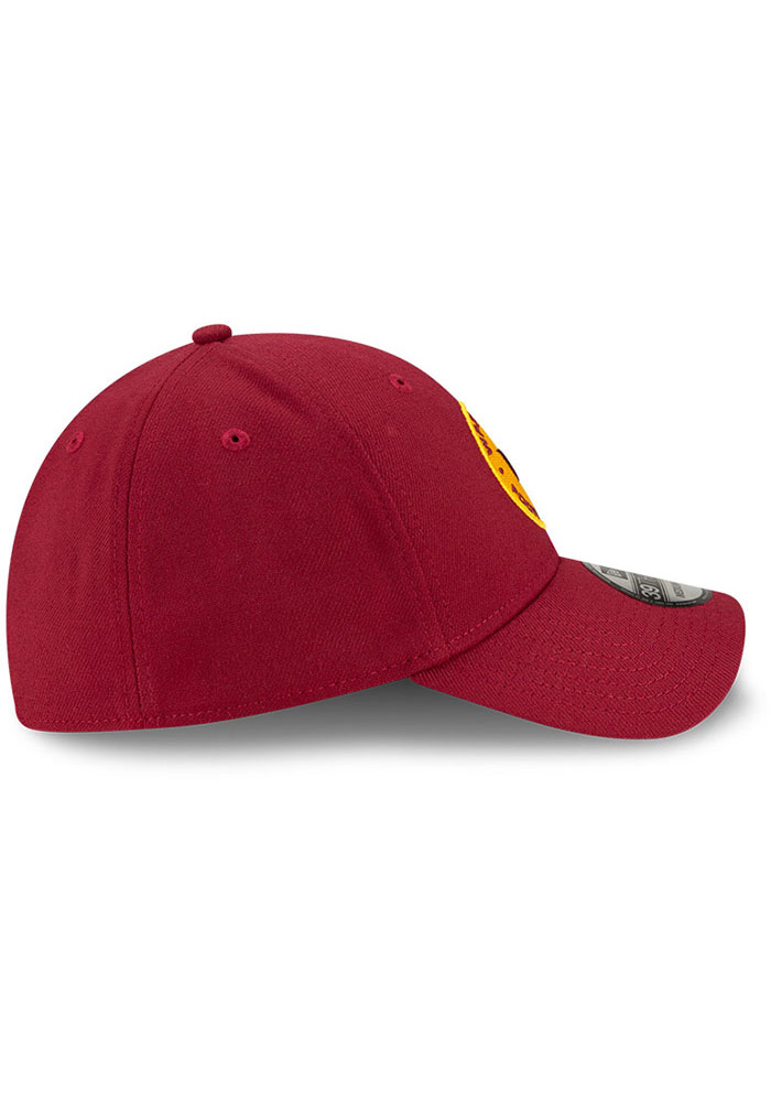 New Era Washington Redskins Mens Maroon Team Classic 39THIRTY Flex Hat - Image 6