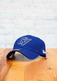 Grand Valley State Lakers New Era The League 9FORTY Adjustable Hat - Blue