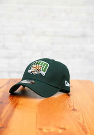 Ohio Bobcats New Era The League 9FORTY Adjustable Hat - Green