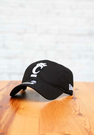 Cincinnati Bearcats New Era White Logo 9TWENTY Adjustable Hat - Black