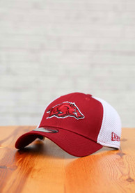Arkansas Razorbacks New Era Team Neo 39THIRTY Flex Hat - Red
