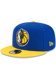 Dallas Mavericks New Era ASG Color Pack 59FIFTY Fitted Hat - Blue