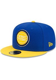 Detroit Pistons New Era ASG Color Pack 59FIFTY Fitted Hat - Blue