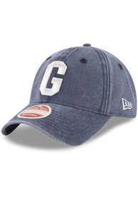 Homestead Grays New Era Classic Wash 9TWENTY Adjustable Hat - Navy Blue