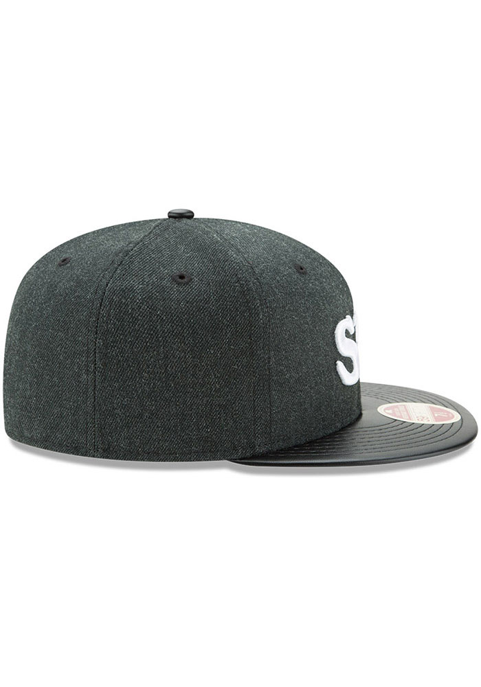 New Era St Louis Stars Mens Green Team Classical 59FIFTY Fitted Hat - Image 6