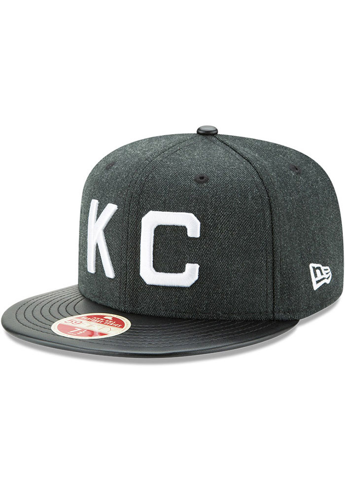 New Era Kansas City Monarchs Mens Green Team Classical 59FIFTY Fitted Hat - Image 1