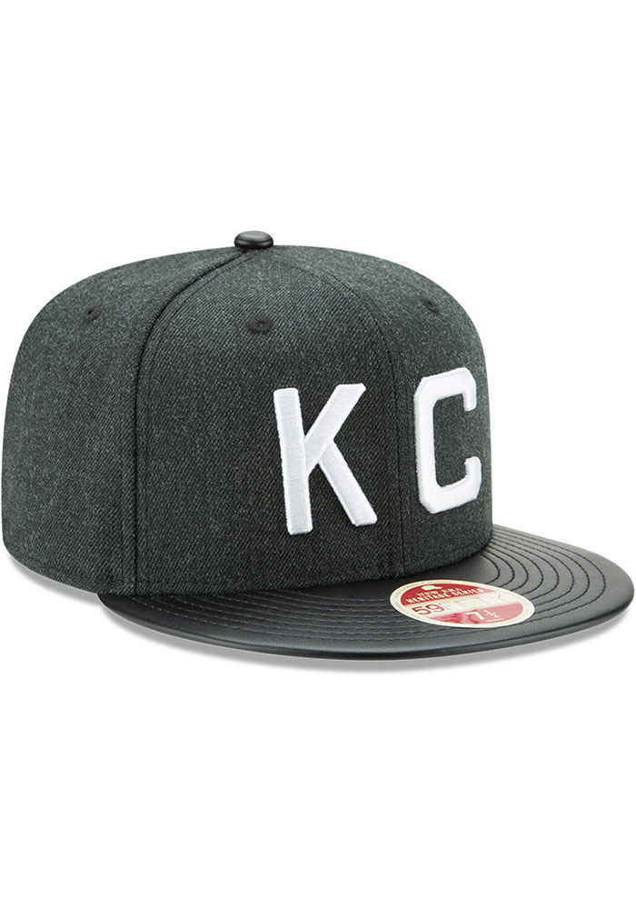 New Era Kansas City Monarchs Mens Green Team Classical 59FIFTY Fitted Hat - Image 2