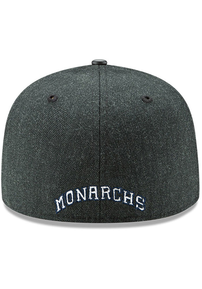 New Era Kansas City Monarchs Mens Green Team Classical 59FIFTY Fitted Hat - Image 5