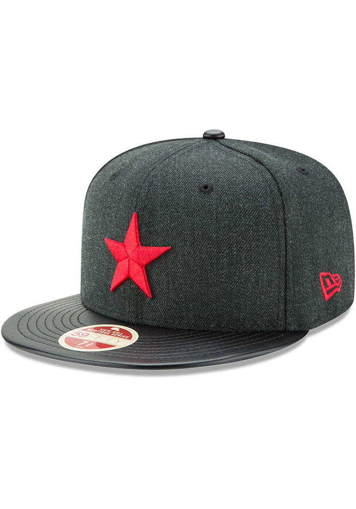 New Era Detroit Stars Mens Green Team Classical 59FIFTY Fitted Hat - Image 1