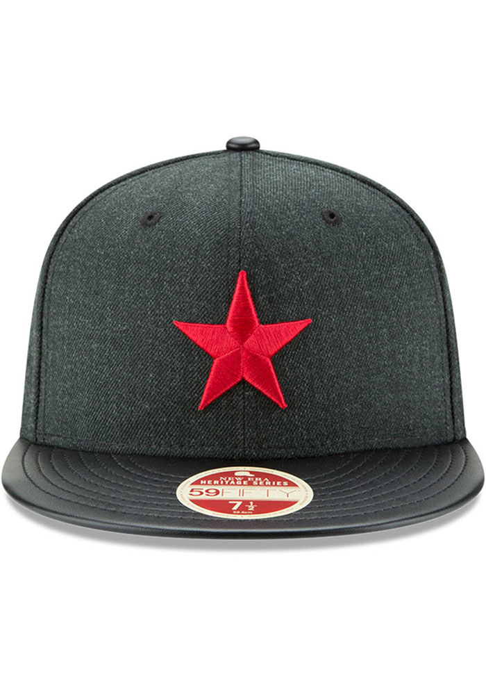 New Era Detroit Stars Mens Green Team Classical 59FIFTY Fitted Hat - Image 3