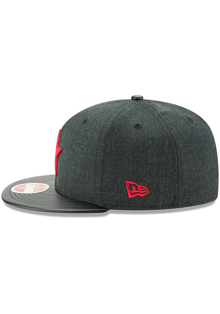 New Era Detroit Stars Mens Green Team Classical 59FIFTY Fitted Hat - Image 4