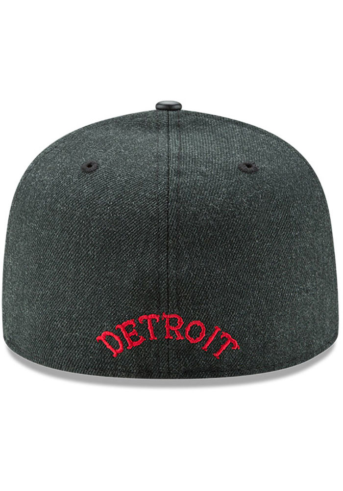 New Era Detroit Stars Mens Green Team Classical 59FIFTY Fitted Hat - Image 6