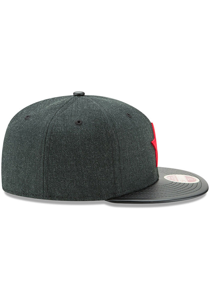 New Era Detroit Stars Mens Green Team Classical 59FIFTY Fitted Hat - Image 7