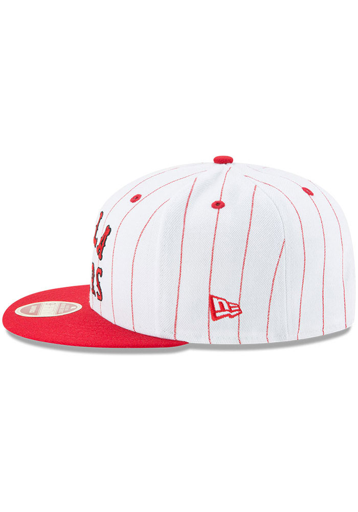 New Era Philadelphia Phillies White Jersey Striped 9FIFTY Mens Snapback Hat - Image 4