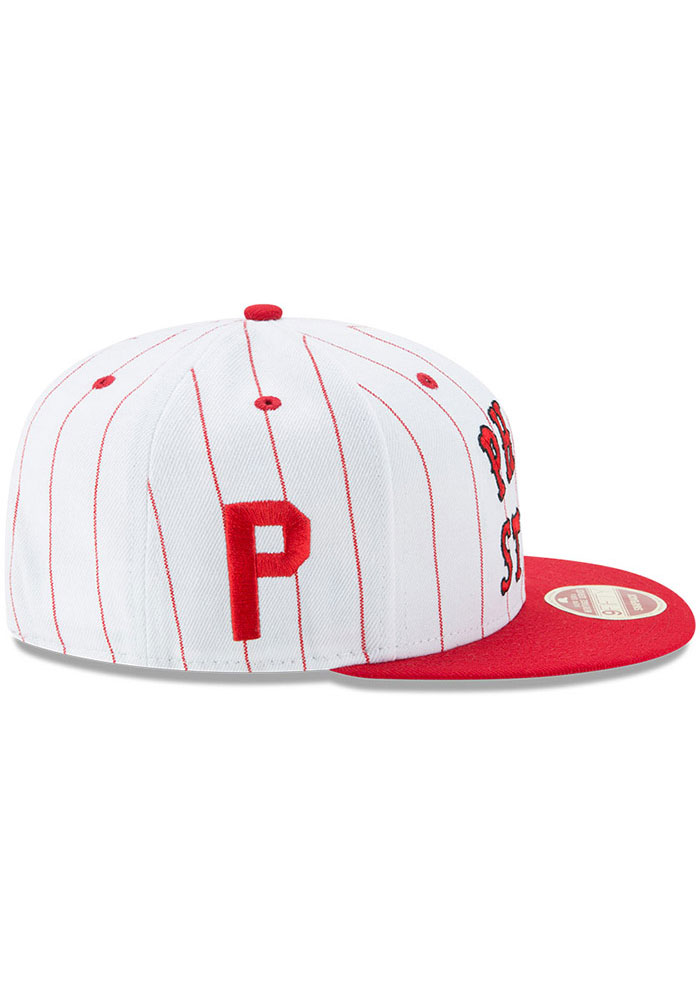 New Era Philadelphia Phillies White Jersey Striped 9FIFTY Mens Snapback Hat - Image 6