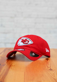 Kansas City Chiefs New Era Casual Classic Adjustable Hat - Red