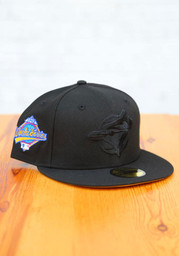 Toronto Blue Jays New Era Tonal Tan UV 1993 WS Side Patch 59FIFTY Fitted Hat - Black