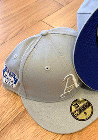 Philadelphia Athletics New Era Tonal Royal Pop 1929 WS Side Patch 59FIFTY Fitted Hat - Grey