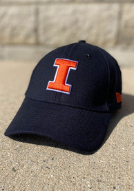 Illinois Fighting Illini New Era Team Classic 39THIRTY Flex Hat - Navy Blue