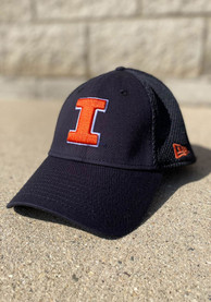 Illinois Fighting Illini New Era Team Neo 39THIRTY Flex Hat - Navy Blue