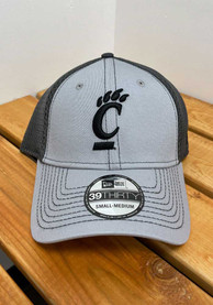 Cincinnati Bearcats New Era Team Neo 39THIRTY Flex Hat - Grey