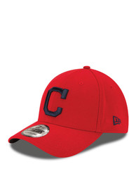 check out 5a0ee 366e2 New Era Cleveland Indians Red Team Classic 39Thirty Flex Hat