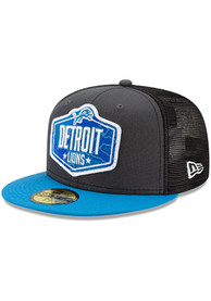 Detroit Lions New Era 2021 NFL Draft 59FIFTY Fitted Hat - Grey