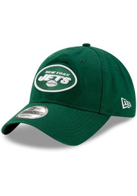 New York Jets New Era Core Classic 9TWENTY Adjustable Hat - Green