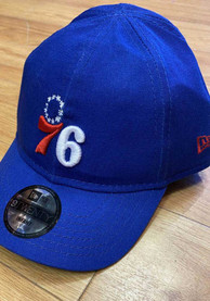 Philadelphia 76ers Baby New Era My 1st 9TWENTY Adjustable Hat - Blue