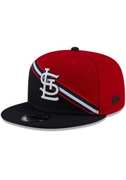 St Louis Cardinals New Era Color Cross 9FIFTY Snapback - Red