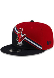 St Louis Cardinals New Era Cooperstown Color Cross 9FIFTY Snapback - Red