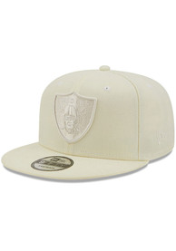 Las Vegas Raiders New Era Color Pack 9FIFTY Snapback - White