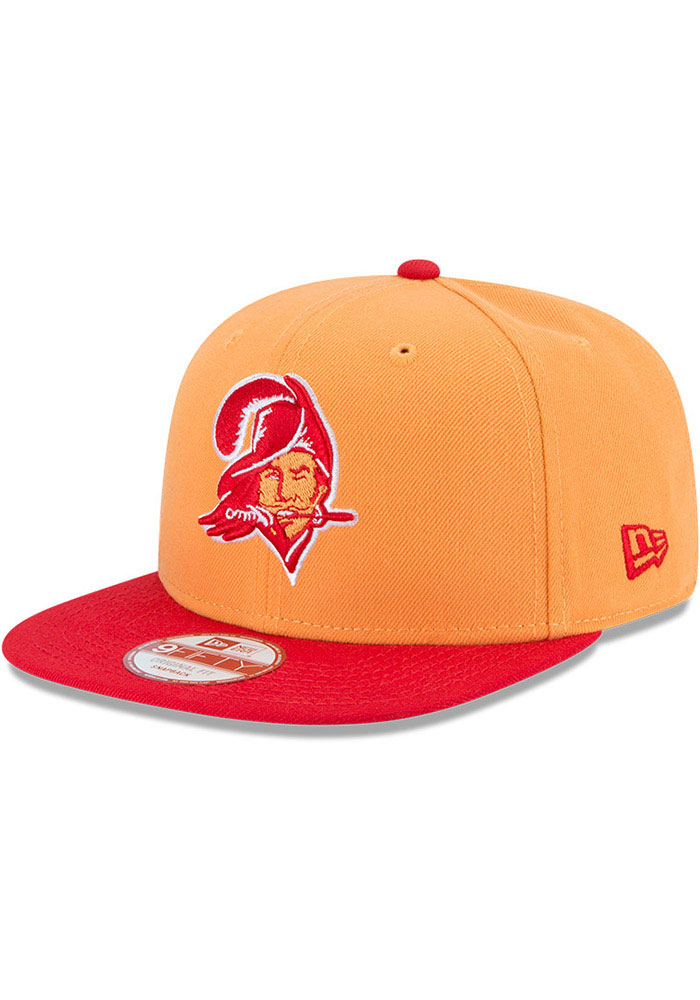 Tampa Bay Buccaneers New Era Retro 2T 9FIFTY Snapback - Orange