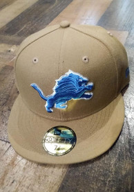 Detroit Lions New Era 59FIFTY Fitted Hat - Khaki