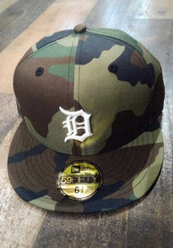 Detroit Tigers New Era 59FIFTY Fitted Hat - Green