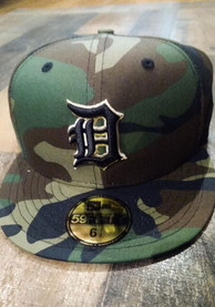 Detroit Tigers New Era Tonal 59FIFTY Fitted Hat - Green