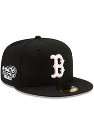 Boston Red Sox New Era Side Patch Paisley UV 59FIFTY Fitted Hat - Black
