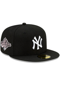 New York Yankees New Era Side Patch Paisley UV 59FIFTY Fitted Hat - Black
