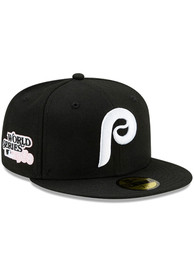 Philadelphia Phillies New Era Side Patch Paisley UV 59FIFTY Fitted Hat - Black