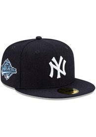New York Yankees New Era Side Patch Paisley UV 59FIFTY Fitted Hat - Navy Blue