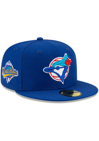 Toronto Blue Jays New Era Side Patch Paisley UV 59FIFTY Fitted Hat - Blue