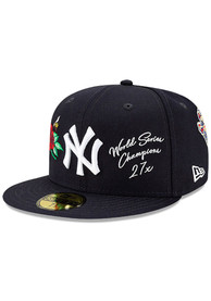 New York Yankees New Era Icon 2 59FIFTY Fitted Hat - Navy Blue