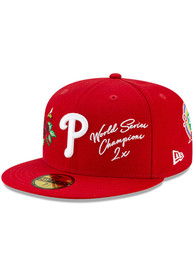 Philadelphia Phillies New Era Icon 2 59FIFTY Fitted Hat - Blue
