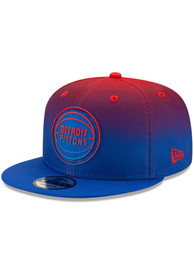 Detroit Pistons New Era NBA Back Half 9FIFTY Snapback - Blue
