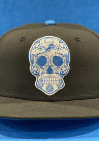 Detroit Lions New Era Sugar Skull 59FIFTY Fitted Hat - Black